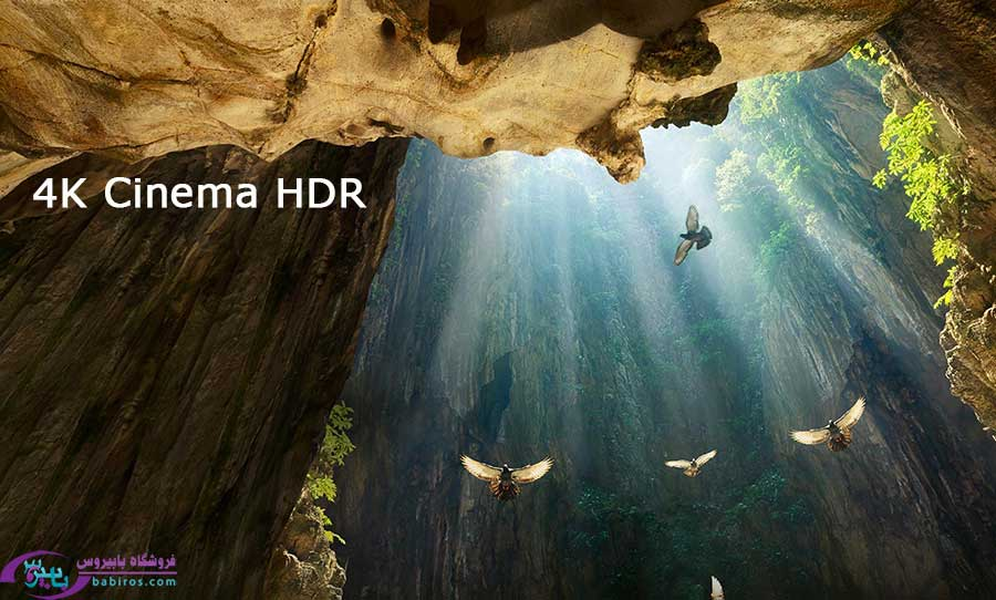 4K Cinema HDR  در UM7580PVA