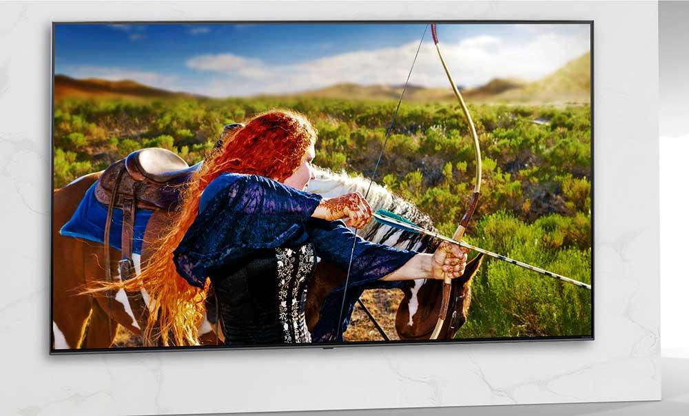 کنتراست رنگ فوق العاده در تلویزیون NANO80 ال جی