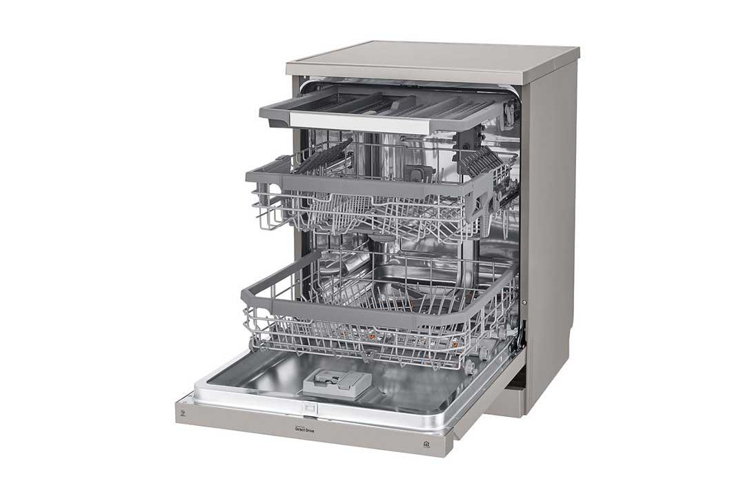 نمای داخلی ظرفشویی 425 الجی