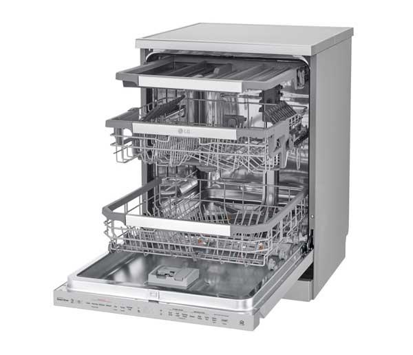 نمای داخلی ظرفشویی 325 ال جی