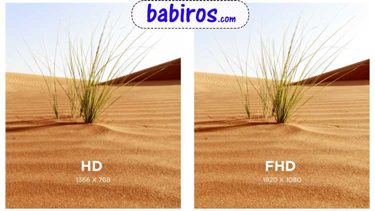 کیفیت تصویر فول اچ دی در تلویزیون سونی W660F