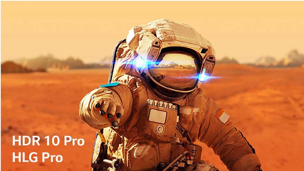 فناوری HDR در تلویزیون 55NANO80VNA ال جی